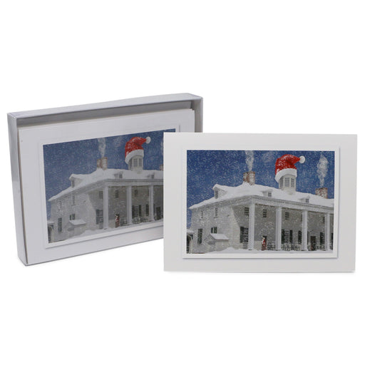 Mount Vernon East Front Mansion Holiday Cards - The Shops at Mount Vernon - The Shops at Mount Vernon
