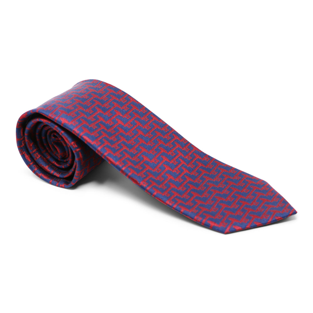 Mount Vernon Blue & Red Bastille Key Tie - The Shops at Mount Vernon - The Shops at Mount Vernon