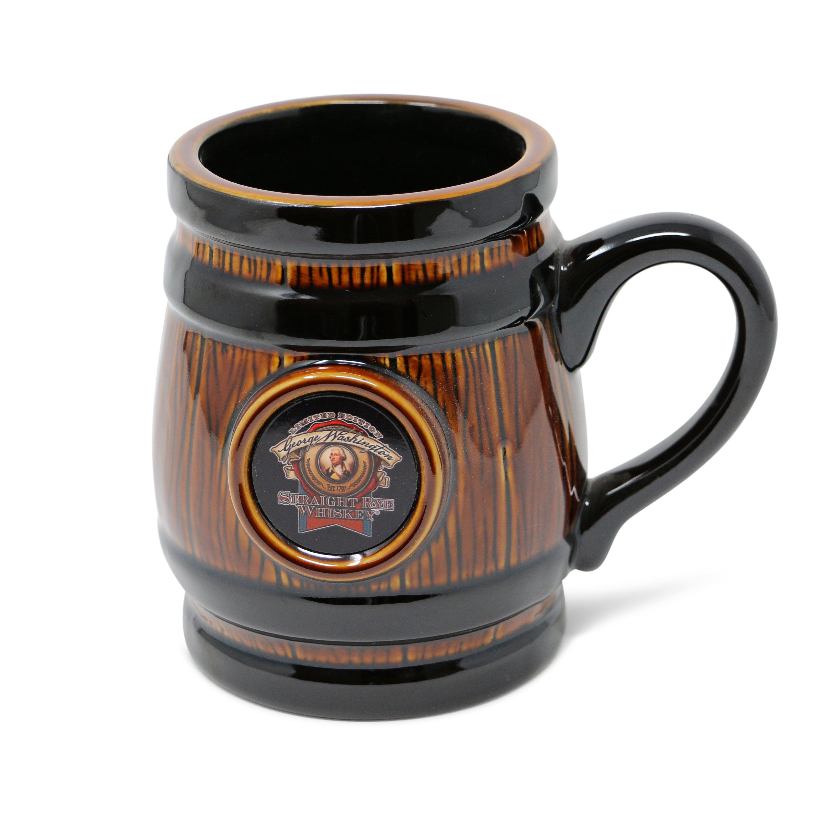 Whiskey Barrel Mug