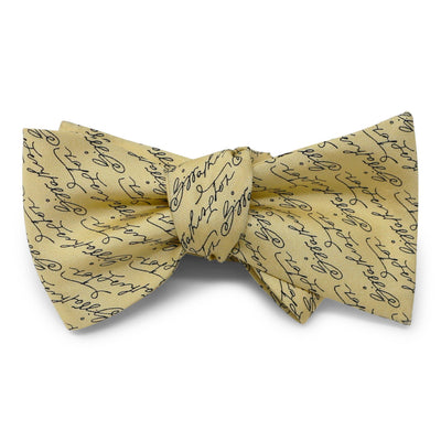 Butter Yellow Signature Bow Tie