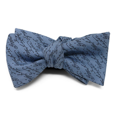 French Blue Signature Bow Tie