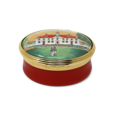 Red Mount Vernon Halcyon Days Box
