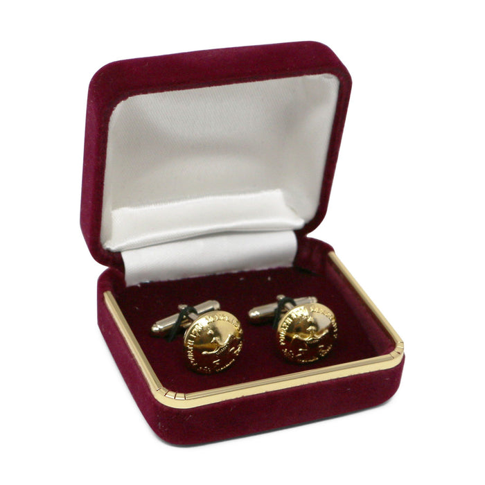 George Washington Eagle Button Cufflinks - The Shops at Mount Vernon - The Shops at Mount Vernon