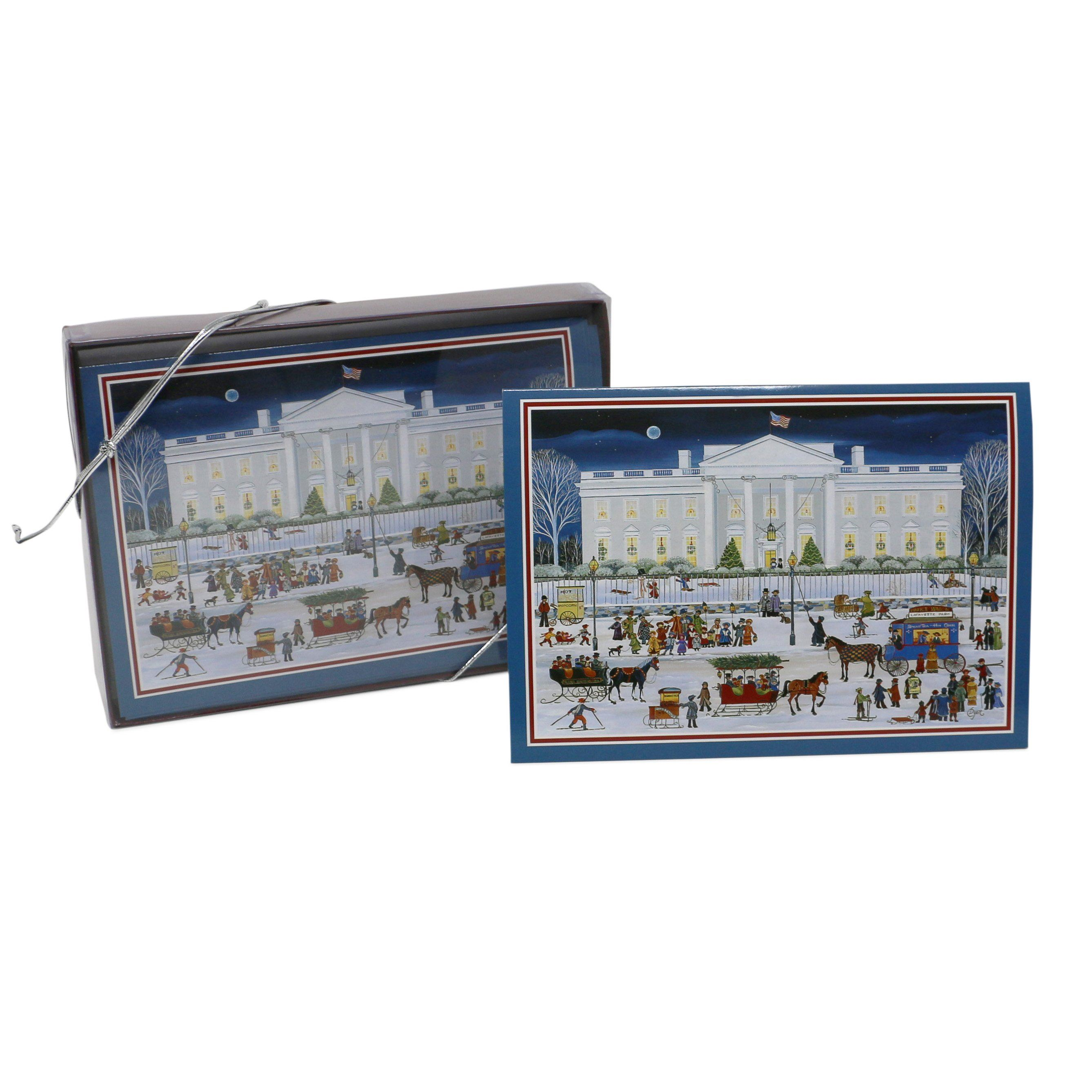 Folk Art Washington, White House Christmas Cards – The Shops at ...
