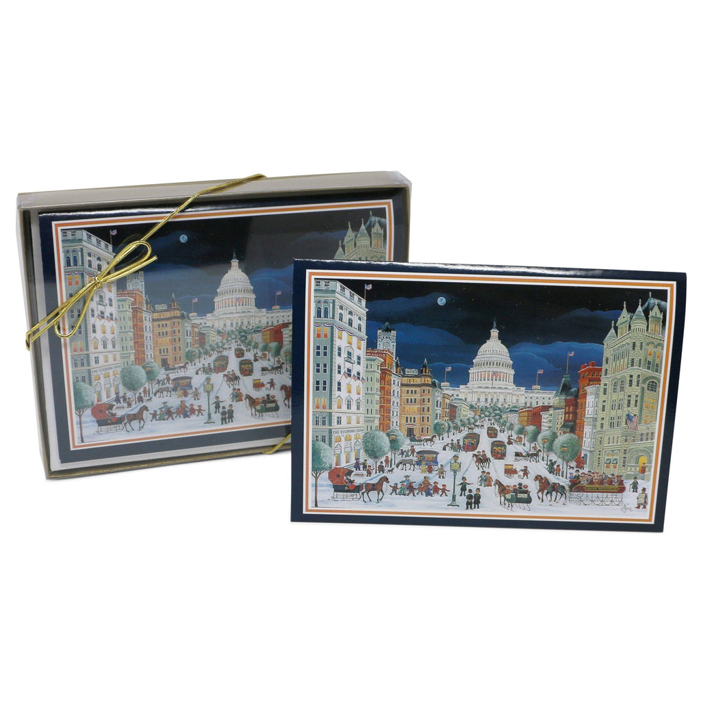Folk Art Pennsylvania Avenue Christmas Cards – The Shops at Mount Vernon