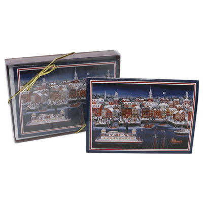 Folk Art City of Alexandria Christmas Cards