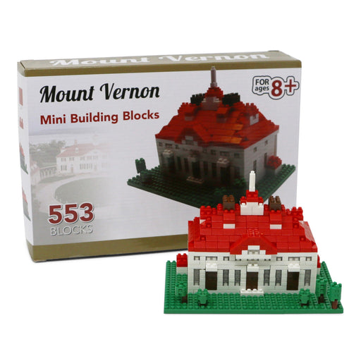 Mount Vernon Nano Blocks - CHARLES PRODUCTS INC. - The Shops at Mount Vernon