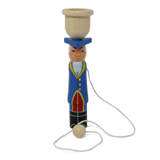George Washington Cup & Ball Toy - The Shops at Mount Vernon - The Shops at Mount Vernon