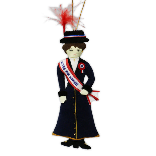 American Suffragette Ornament - ST NICOLAS LTD. - The Shops at Mount Vernon