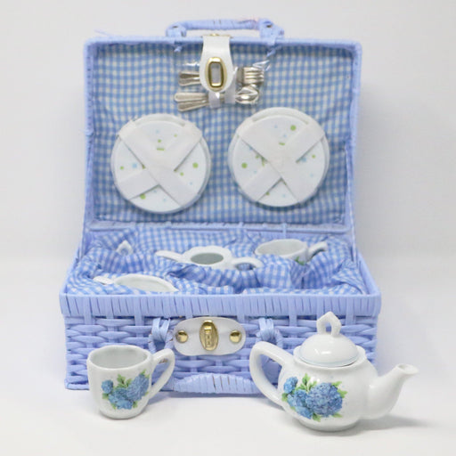 Hydrangea Tea Set - The Shops at Mount Vernon - The Shops at Mount Vernon