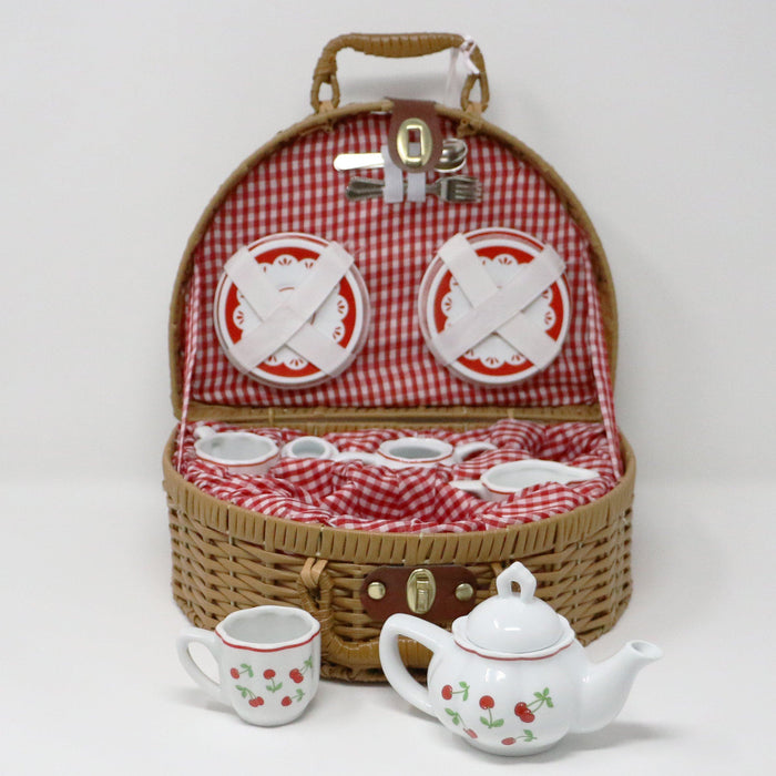 Cherry Tea Set - The Shops at Mount Vernon - The Shops at Mount Vernon