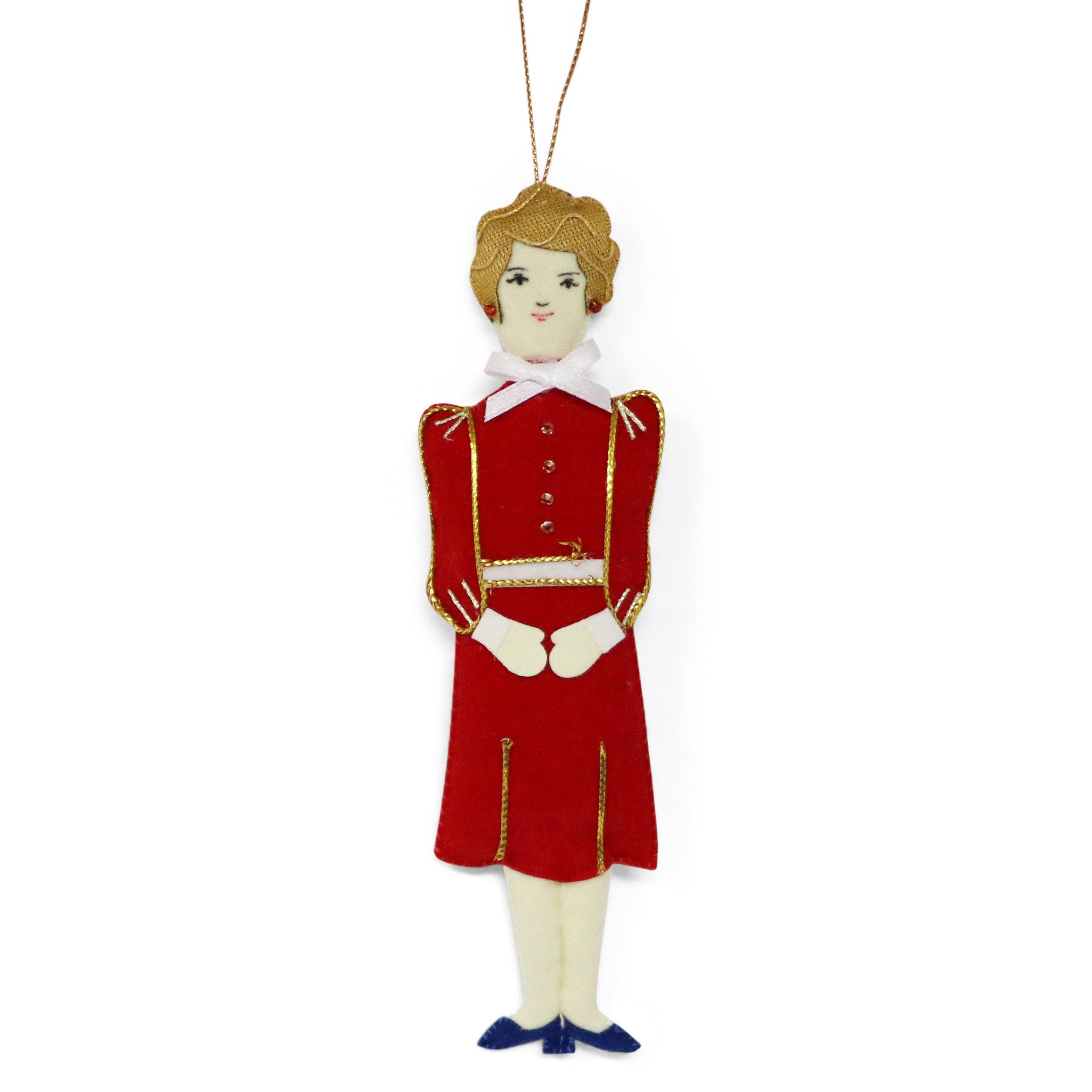 Nancy Reagan Ornament