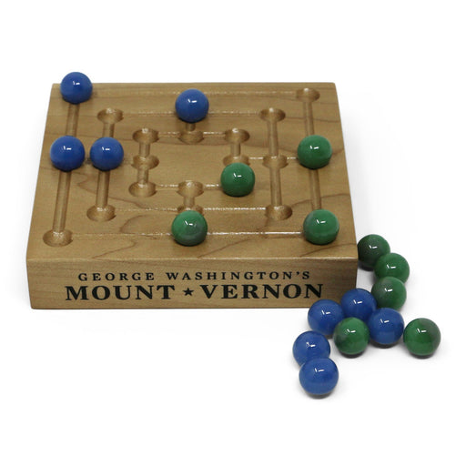 Nine Men's Morris Board Game - 1901 - The Shops at Mount Vernon