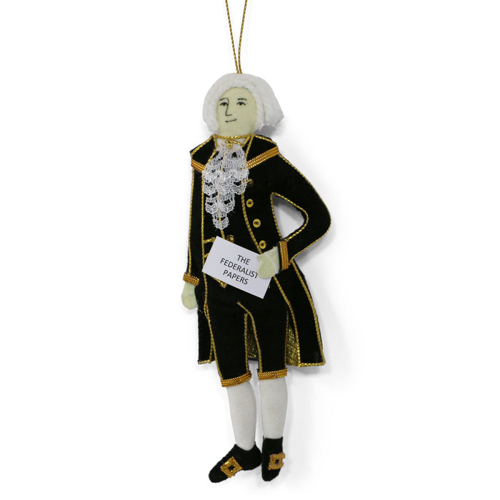 Alexander Hamilton Ornament - ST NICOLAS LTD. - The Shops at Mount Vernon
