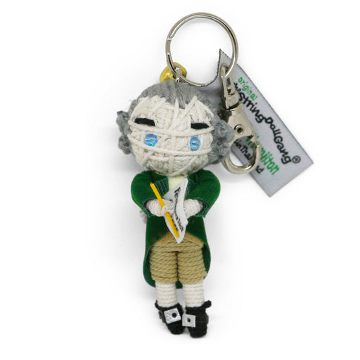 Alexander Hamilton String Doll Keychain - KAMIBASHI ASIAN ART - The Shops at Mount Vernon