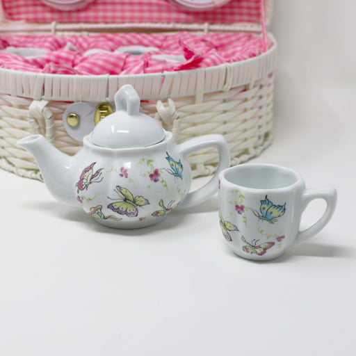 Butterfly Tea Set - The Shops at Mount Vernon - The Shops at Mount Vernon