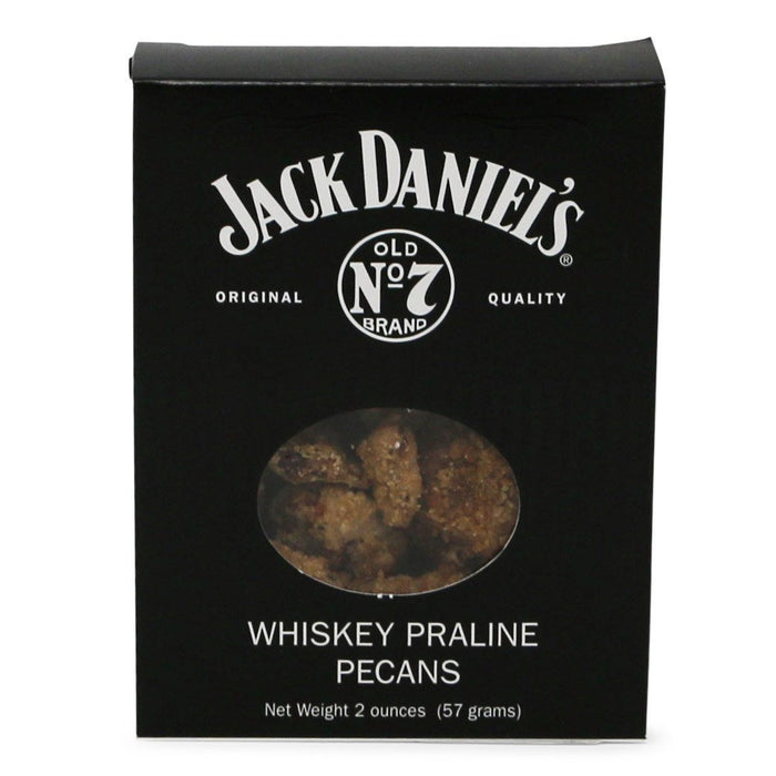 Jack Daniel's Whiskey Praline Pecans 2 oz. - INDIANOLA PECAN HOUSE - The Shops at Mount Vernon