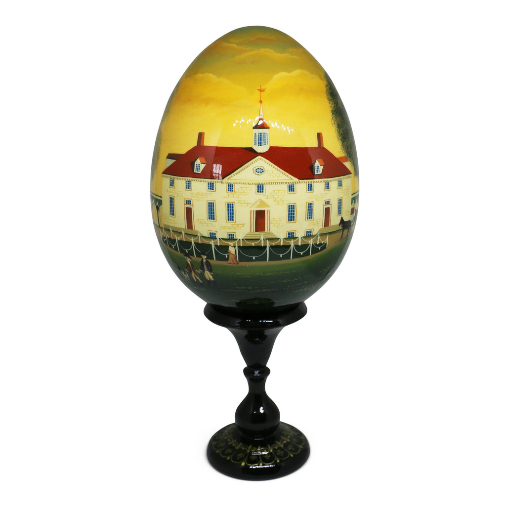 Large 1792 Egg with Stand