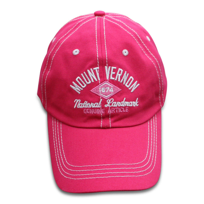 Mount Vernon Black and Pink T-Shirt & Cap Combo - The Shops at Mount Vernon - The Shops at Mount Vernon