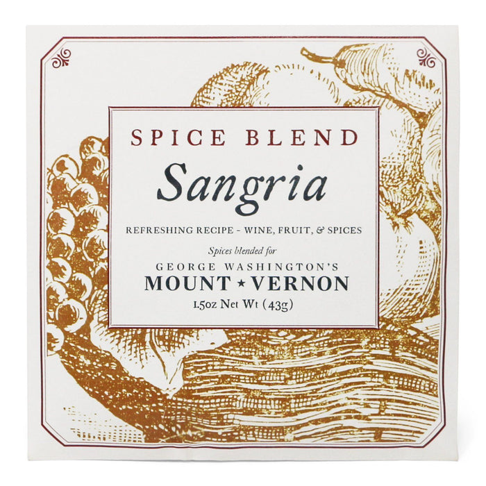 Spice Blend Sangria - OLIVER PLUFF & CO. - The Shops at Mount Vernon