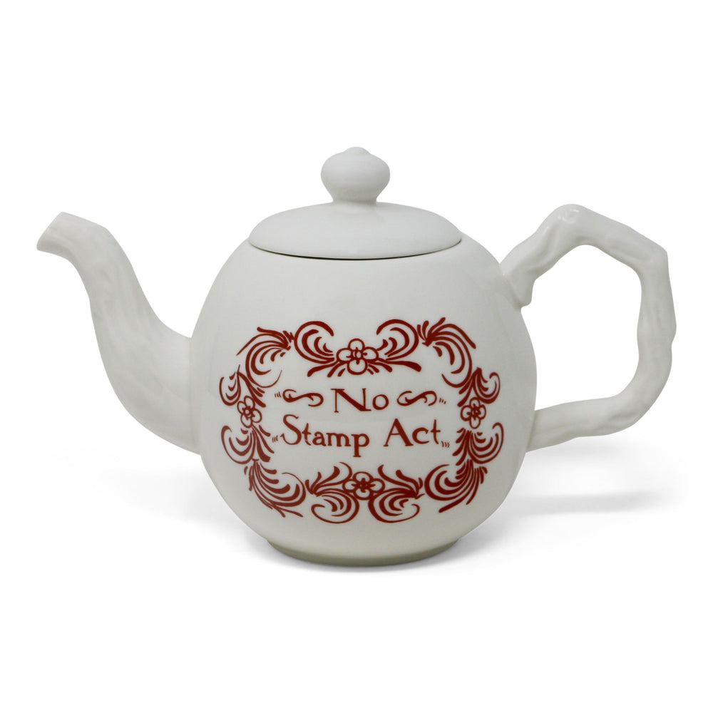 No Stamp Act Teapot - DESIGN MASTER ASSOCIATES - The Shops at Mount Vernon