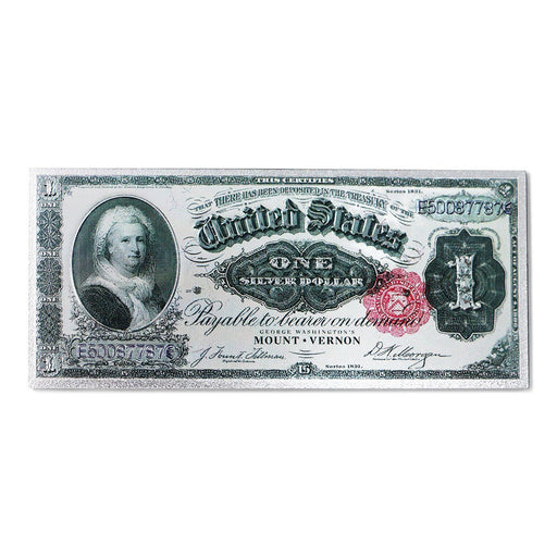 Martha Washington One Dollar Foil Magnet - CHARLES PRODUCTS INC. - The Shops at Mount Vernon