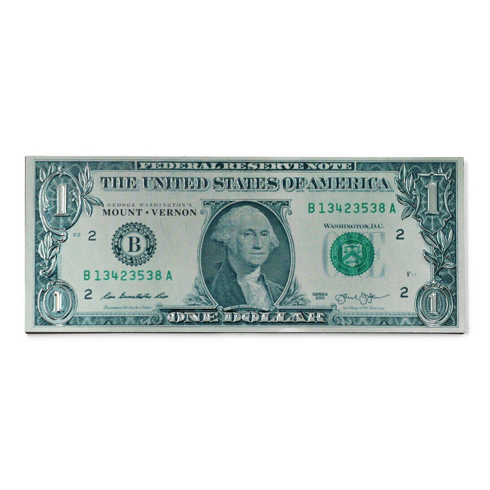 Mount Vernon $1.00 Bill Foil Magnet - CHARLES PRODUCTS INC. - The Shops at Mount Vernon