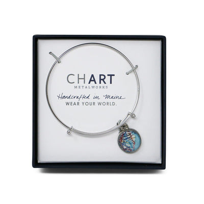 Mount Vernon Map Bangle