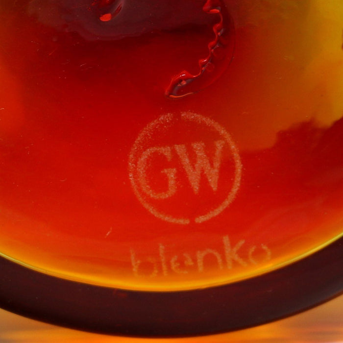 Tangerine Tankard - BLENKO GLASS COMPANY - The Shops at Mount Vernon