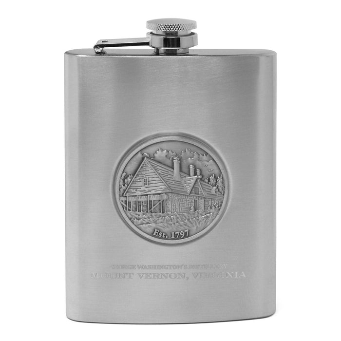 Mount Vernon Medallion Flask Set - SUPERB CASE - The Shops at Mount Vernon