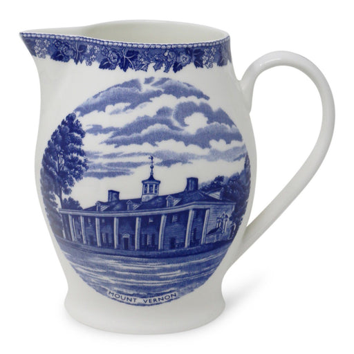 Blue Staffordshire Mount Vernon Liverpool Jug - 31 - The Shops at Mount Vernon