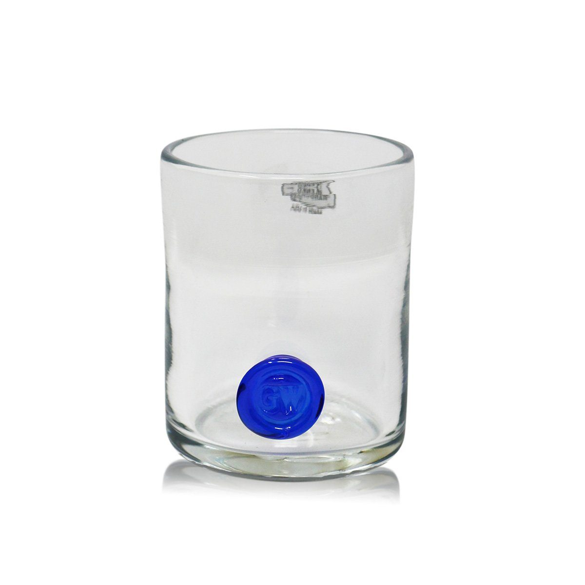 GW Rocks Glass with Cobalt Seal