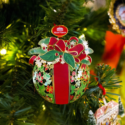 Mount Vernon Kissing Ball Ornament
