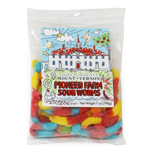 Pioneer Farm Sour Worms - CHARLES PRODUCTS INC. - The Shops at Mount Vernon