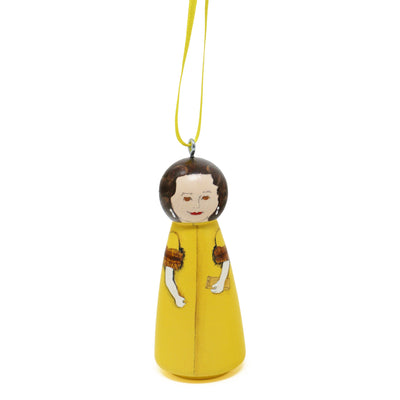 Lady Bird Johnson First Lady Ornament