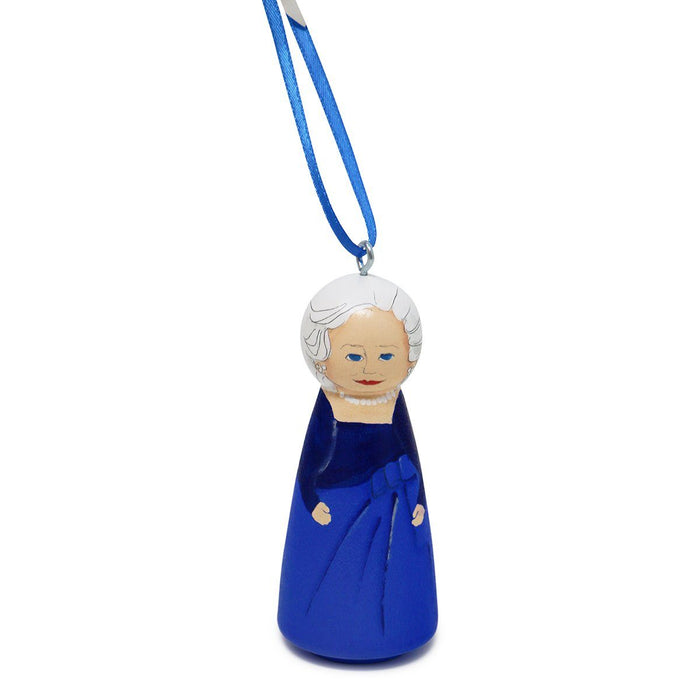 Barbara Bush First Lady Ornament - RACHAEL A. PEDEN - The Shops at Mount Vernon