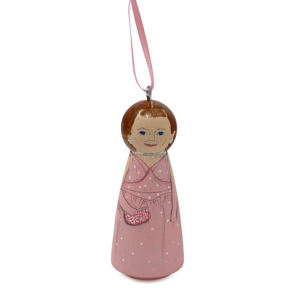 """Mamie"" Eisenhower First Lady Ornament - RACHAEL A. PEDEN - The Shops at Mount Vernon"