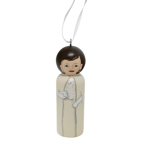 Jacqueline Kennedy First Lady Ornament - RACHAEL A. PEDEN - The Shops at Mount Vernon