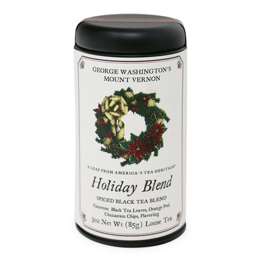 Mount Vernon Holiday Tea Blend - OLIVER PLUFF & CO. - The Shops at Mount Vernon
