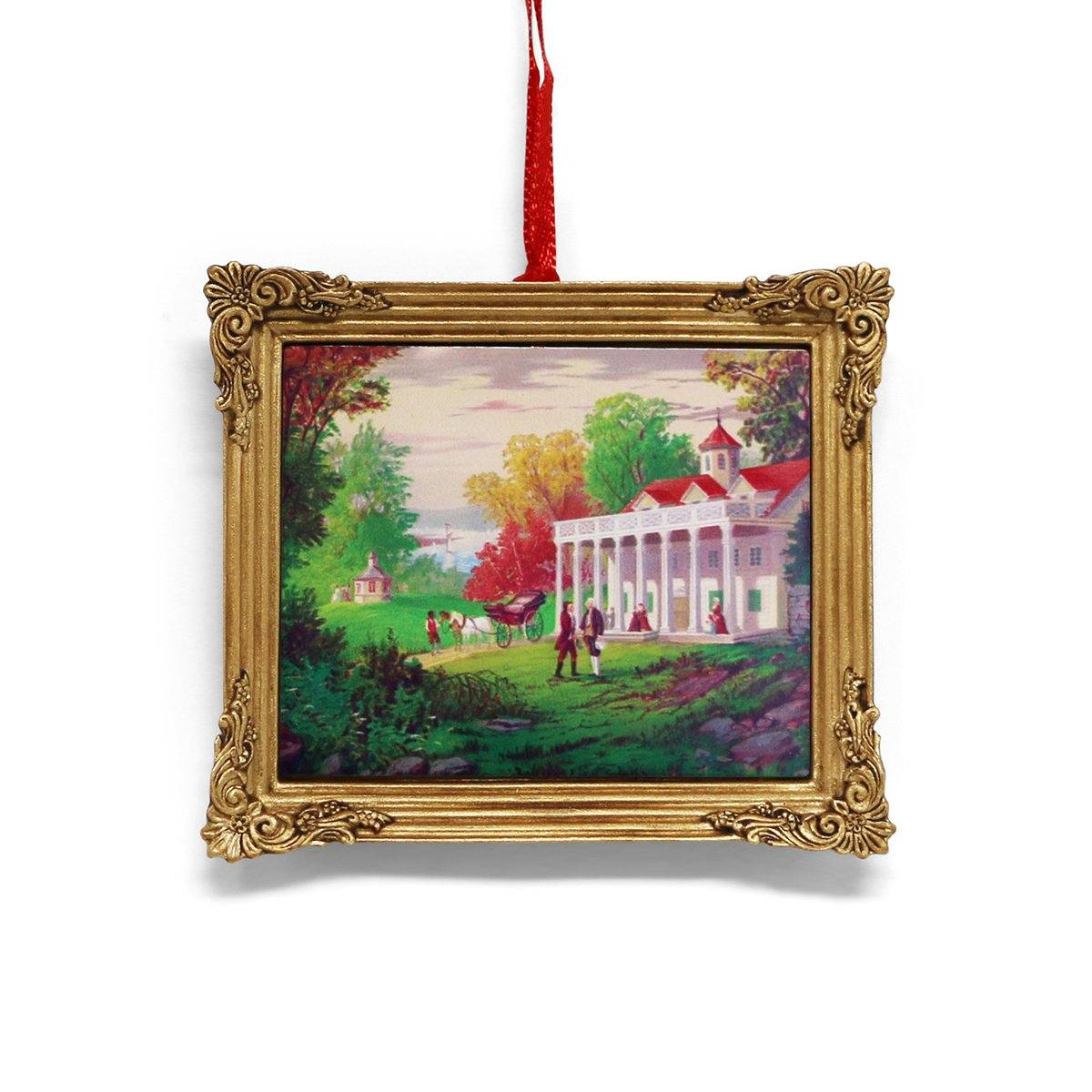 Mount Vernon Gilman Image Framed Ornament