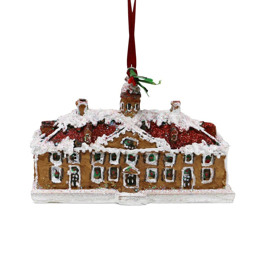 Gingerbread Mansion Ornament from Byers' Choice - The Shops at Mount Vernon - The Shops at Mount Vernon