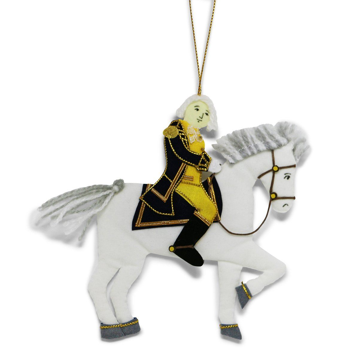 George Washington & Blueskin Ornament