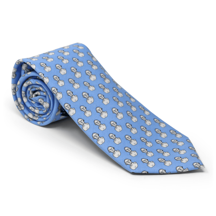 Vineyard Vines Blue Houdon Bust Tie - The Shops at Mount Vernon - The Shops at Mount Vernon