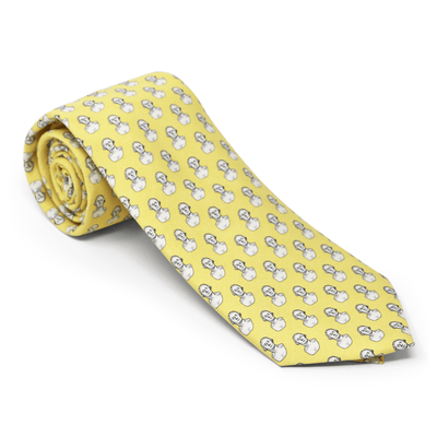 Vineyard Vines Yellow Houdon Bust Tie