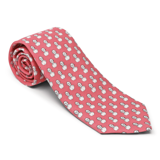 Vineyard Vines Pink Houdon Bust Tie - The Shops at Mount Vernon - The Shops at Mount Vernon