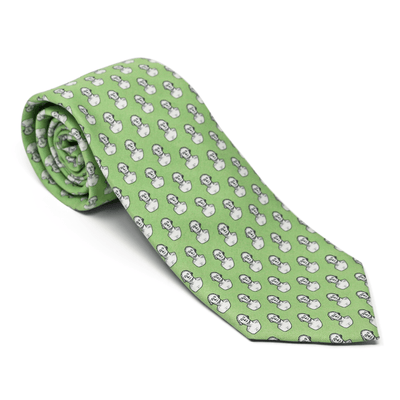 Vineyard Vines Green Houdon Bust Tie