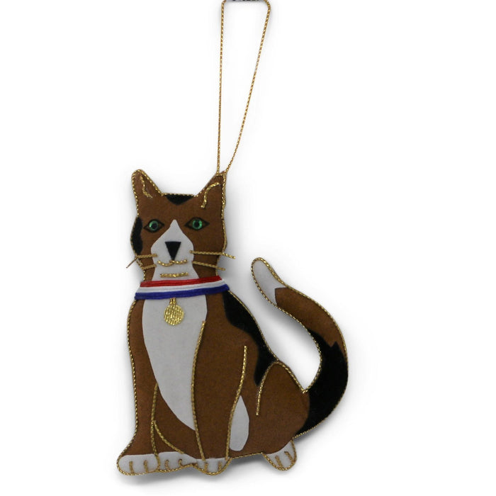 Liberty the Cat Ornament - ST NICOLAS LTD. - The Shops at Mount Vernon