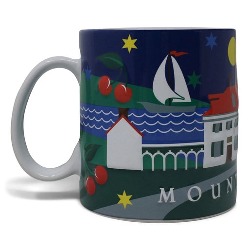 Mount Vernon 3D Cherry Mug - CHARLES PRODUCTS INC. - The Shops at Mount Vernon