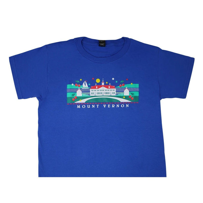 Children's Cherry Royal T-shirt - CHARLES PRODUCTS INC. - The Shops at Mount Vernon