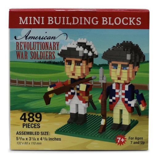 American Revolutionary War Soldiers Mini Building Blocks - IMPACT - The Shops at Mount Vernon
